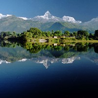 Pokhara Nepal-  Not a Photoshop or Disneyland!Its Real Nature Creation!