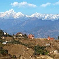 Nepal Mountain View